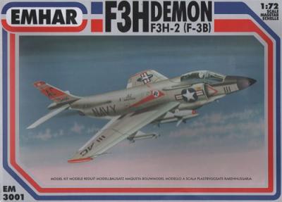3001 - McDonnell F3H-2 (F3-B) Demon 1/72