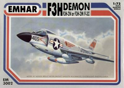 3002 - McDonnell F3H-2M / F3H-2N (F-3C) Demon 1/72