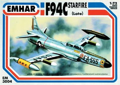 3004 - Lockheed F-94C Starfire late version 1/72