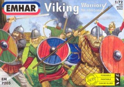 7205 - Viking Warriors 1/72