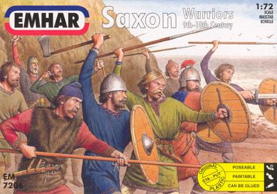 7206 - Saxon Warriors 1/72