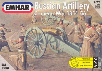 7208 - Crimean War Russian Artillery 1/72
