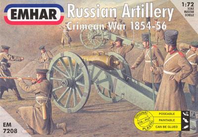 7208 - Crimean War Russian Artillery 1/72
