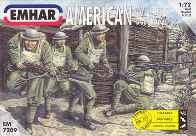 7209 - WW1 American Infantry 1/72