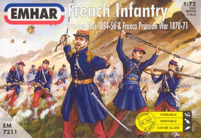 7211 - French Infantry 1854-1871 1/72