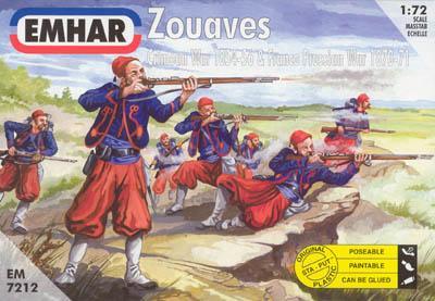 7212 - Zouaves 1870-1871 1/72