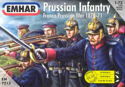 7213 - Prussian Infantry 1870-1871 1/72