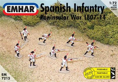 7215 - Spanish Infantry Peninsular War 1/72