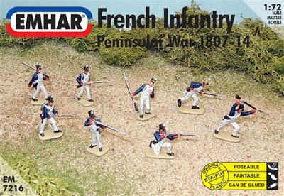 7216 - French Infantry Peninsular War 1/72