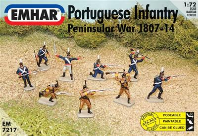 7217 - Portuguese Infantry and Cazadores 1/72