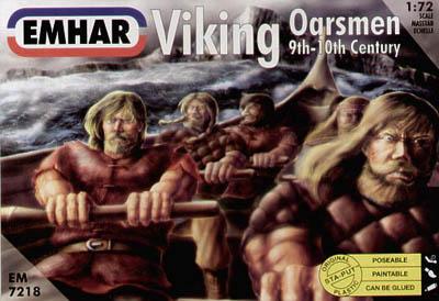 7218 - Viking Oarsmen 1/72