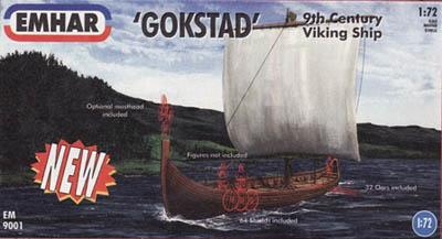 9001 - Viking Ship 'Gokstad' 1/72