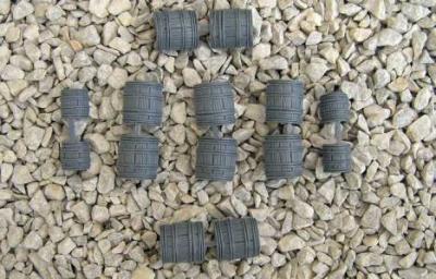 Barrels, Grey