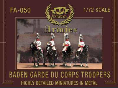 FA-050 Baden Garde du Corps Troopers 1/72