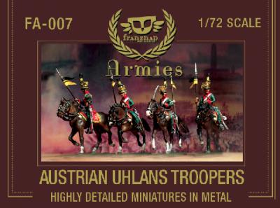 FA-007 -  Austrian Ulhans Trooper 1/72