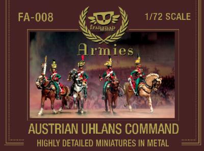 FA-008 - Austrian Uhlans Command 1/72