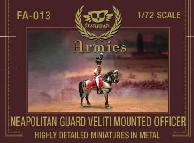 FA-013 - Neapolitan Guard Veliti Mounted Officer 1/72