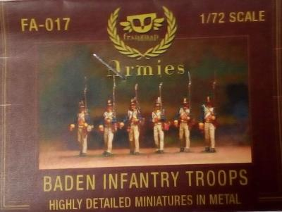 FA-017 - Baden Infantry Troops 1/72