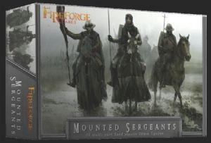 FFG003 - Mounted Sergeants 28mm