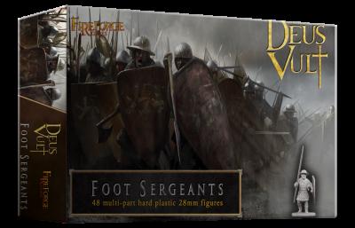 FFG004 - Foot Sergeants 28mm