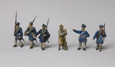 FHNK 4 Landwehr set 2 au 1/72