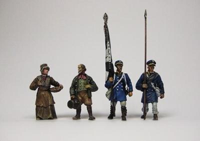 FHNK 5 Landwehr set 1 au 1/72