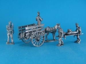 FL-06 - Chariot with wounded 1/72