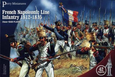 FN100 - French Line Infantry 1815 28mm