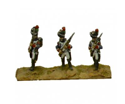 FRA15 - French Old Guard Chasseurs, Porte Arms (x4) 1/72