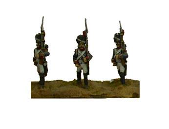 FRA4 - French Old Guard Grenadiers, March Attack (x4) 1/72