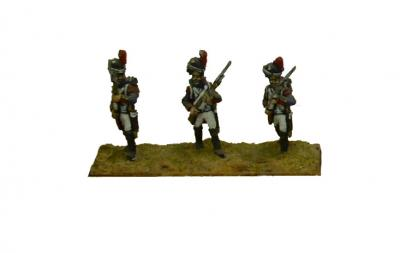 FRA5 - French Old Guard Grenadiers, Porte Arms (x4) 1/72