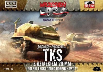 WWH001 - Polish TKS Reconnaissance Tank 1/72