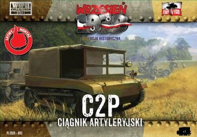 WWH003 - C2P Polish Artillery Tractor 1/72