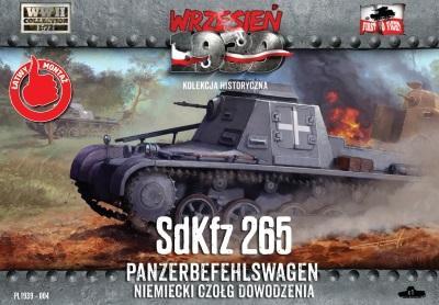 WWH004 - German Sd.Kfz.265 Panzerbefehlswagen 1/72