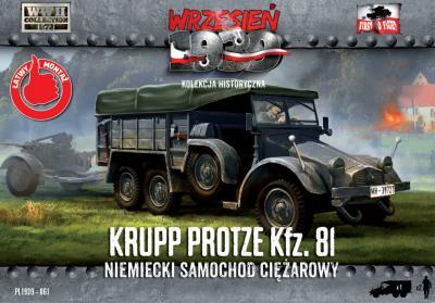 WWH061 - Krupp-Protze 81 German Truck 1/72