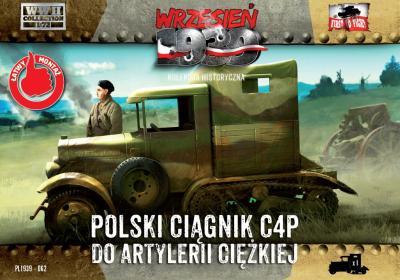 WWH062 - C4P Polish Heavy Artillery Tractor 1/72