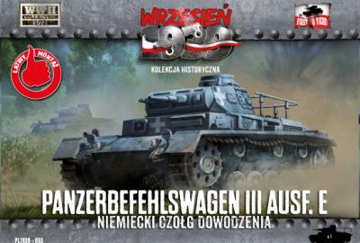 WWH063 - Panzerbefehlswagen III Ausf.E Command Tank 1/72