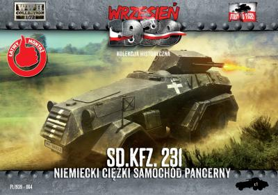 WWH064 - German Sd.Kfz.231 Heavy Armored Car 1/72