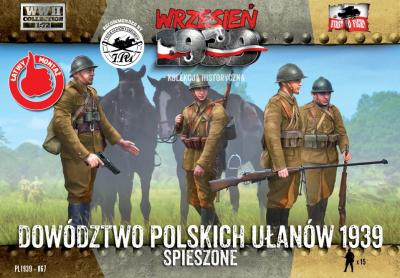WWH067 - Polish Uhlans Headquarters on foot 1/72