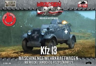 WWH006 - German Kfz.13 Maschinengewehrkraftwagen 1/72