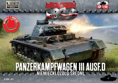 WWH073 - Pz.Kpfw.III Ausf.D 1/72