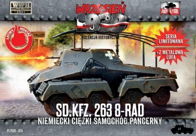 WWH074 - Sd.Kfz.263 8-rad 1/72