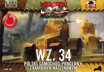 WWH007 - Polish Wz.34 Armoured Car 1/72