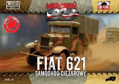 WWH011 - Polish Fiat 621L Truck 1/72