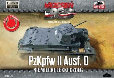 WWH012 - German Pz.Kpfw.II AUSF.D 1/72