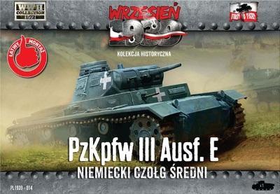 WWH014 - German Pz.Kpfw.III AUSF.E 1/72
