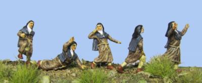 72-050 - Fliehende Nonnen 1/72