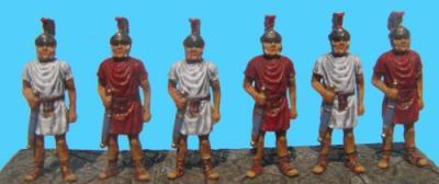 72-1004 - Set 4 6x Figuren Praetorianer Wachen 1/72