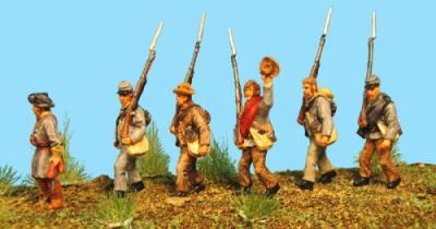 72-9004 - Marschierende Texas Brigade 1/72