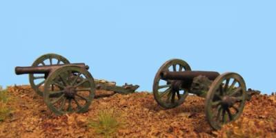"""72-9101 - Geschütz """"Napoleon""""  ohne Protze (2 Stck.) 1/72"""